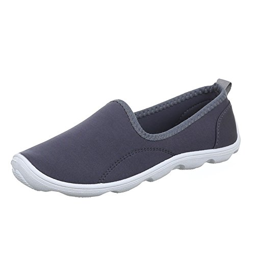 Ital-Design - Zapatos Mujer Gris - gris