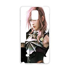 Final Fantasy Samsung Galaxy Note 4 Cell Phone Case White O2435681
