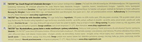 OLIMP Twister High Protein Riegel Vanille, 1er Pack (1 x 1.44 kg)