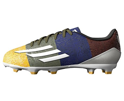 Fútbol FG Junior Azul Bota de F10 Verde Messi Adidas wX5xqRPcTT