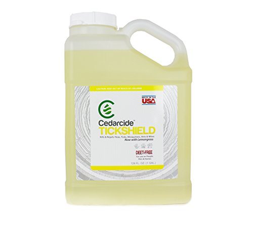 (Cedarcide New Tickshield with Lemongrass Scent (Gallon))
