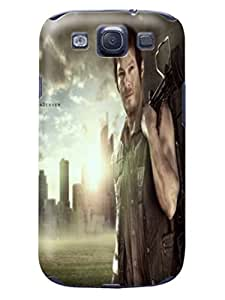 Samsung Galaxy s3 TPU protection protector case/cover + unique cool The Walking Dead Daryl Dixon fashionable phone accessory