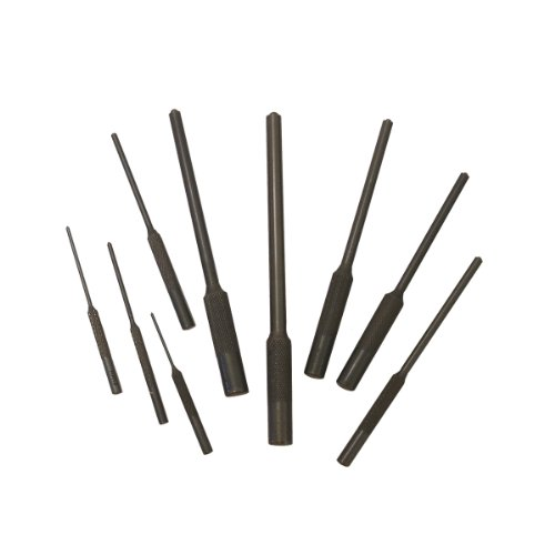 Grip 9 pc Roll Pin Punch Set Gunsmithing