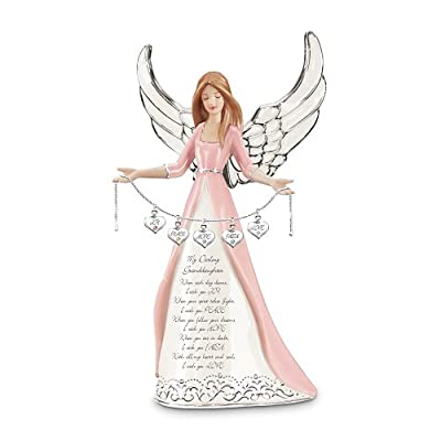 Darling Granddaughter, I Wish You Collectible Angel Figurine Gift by The Bradford Exchange
