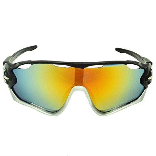 Outdoor de Glasses PC Glasses Prueba VR explosiones A UV Gafas C Sunglasses Riding Sunglasses PaxyIY