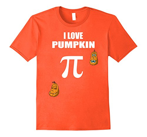 Nerd Costume Ideas (Mens Halloween 2017 Trick Or Treat T Shirt Gift Idea Math Nerd Pi XL Orange)