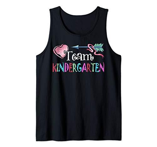 Team Kindergarten Funny Shirt Teacher Student Back To School Tank Top -
