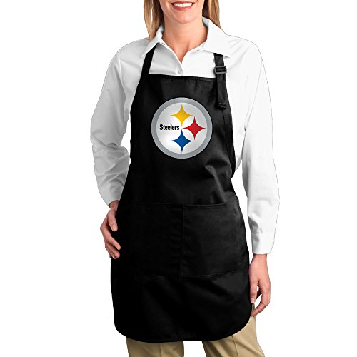 - Hotel Chef Men Cotton Apron For Cooking Pittsburgh Steelers Twill Cotton Barbecue Comfortable Adults Bibs Cotton Apron Funny Gifts