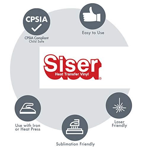 Siser Glitter 11.8''x5yd Roll (Rainbow White, 15ft) by SISER (Image #5)