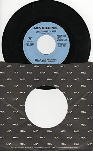 Black Oak Arkansas: Great Balls of Fire (2:22 Stereo Version) B/w Great Balls of Fire (Same 2:22 Stereo Version) (Black Oak Arkansas Great Balls Of Fire)