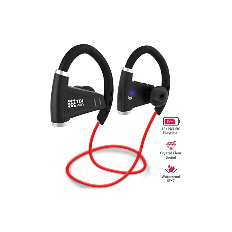 0e3db255749 [Newest 2019] Bluetooth Headphones w/ 12+ Hours Battery - Be.