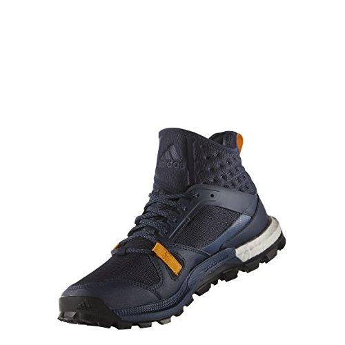 adidas Herren Supernova Riot M Laufschuhe, Negro / Azul / Naranja (Maruni / Azumin / Eqtnar), 43 1/3 EU