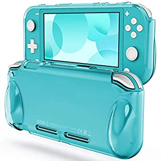 JETech Protective Case for Nintendo Switch Lite 2019, Grip Cover with Shock-Absorption and Anti-Scratch Design, Turquoise