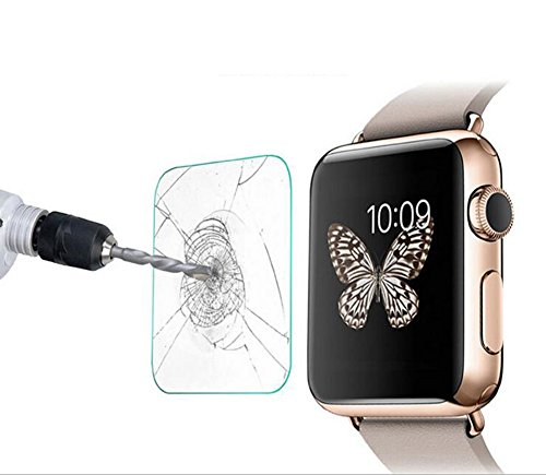 42mm Screen Protector for Apple Watch iWatch, YaSaShe 0.2mm 2.5D Tempered Glass Film