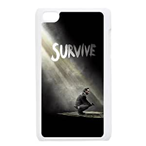 The Walking Dead Season 5 Survive Rick iPod Touch 4 Case White Delicate gift JIS_257350