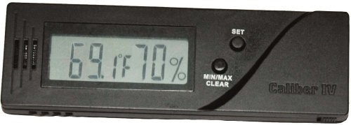 Cigar Oasis Caliber IV Digital Hygromter by Western Humidor (Best Hygrometer For Humidor)