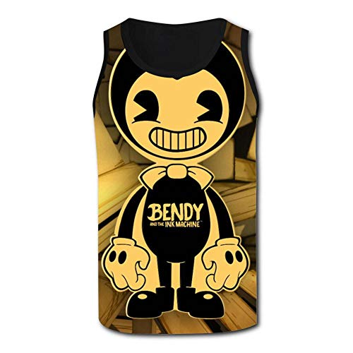Ollip41 Men's Ben Body Tank Top Sleeveless T-Shirts Casual Sports Tank Tops for Men