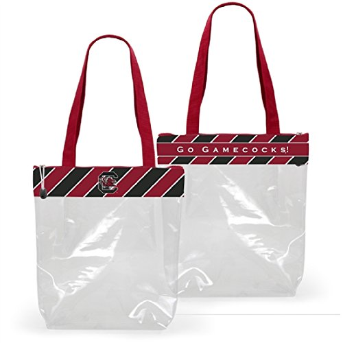(Desden South Carolina Gamecocks Clear Gameday Stadium Tote Bag)