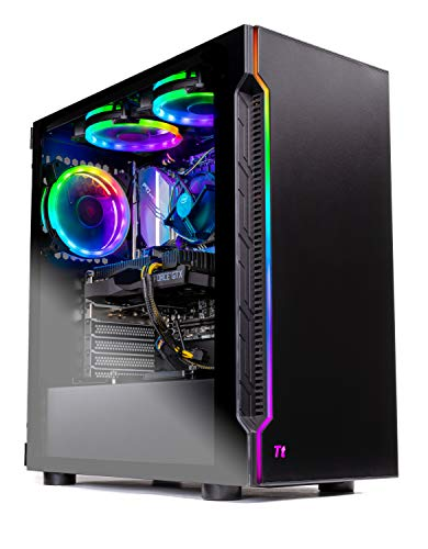 Skytech Shadow Gaming Computer PC Desktop - Intel Core i5 9400F 2.9GHz, GTX 1660 6G, 500GB SSD, 8GB DDR4 3000MHz, RGB Fans, Windows 10 Home 64-bit, 802.11AC Wi-Fi in USA
