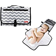 Obecome Portable Waterproof Baby Diaper Changing Pad...