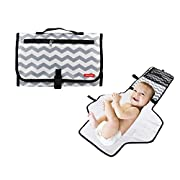 Obecome Portable Waterproof Baby Diaper Changing Pad Kit, Travel Home Change Mat Organizer Bag for Toddlers Infants and Newborns