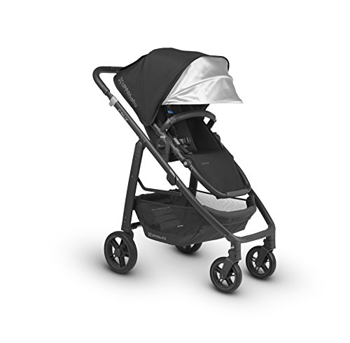 UPPAbaby CRUZ Stroller, Black/Carbon/Leather, Jake by UPPAbaby
