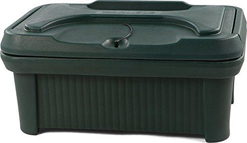 Carlisle XT160008 Slide 'N Seal Top Loader, 6-Inch, Forest Green
