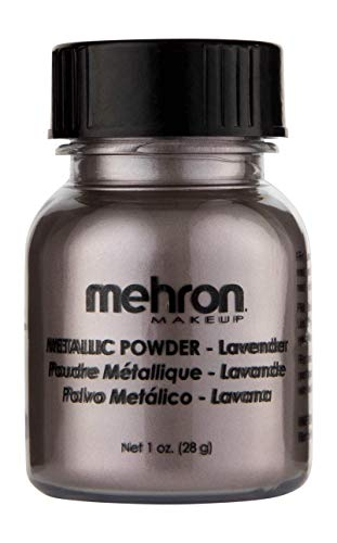 Mehron Makeup Metallic Powder (1 oz) (LAVENDER)