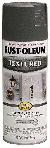 Textured Pewter Finish Antique - Rust-Oleum 7221830 Textured Spray Paint, 12 oz, Dark Pewter