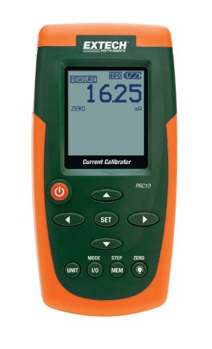 (Extech PRC10 Current and Voltage Calibrator and)