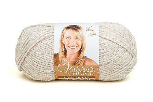 Lion Brand Yarn 860-099H Vanna's Choice Yarn, Linen by Lion Brand Yarn (Lion Brand Yarn Linen)