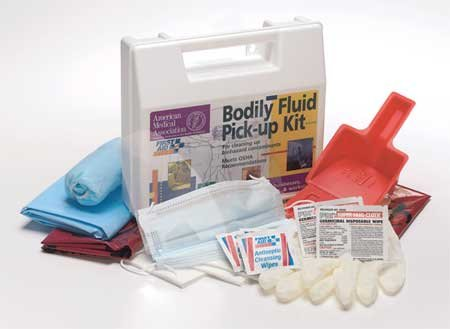 Biohazard Spill Kit, Carrying Case, White by First Aid Only
