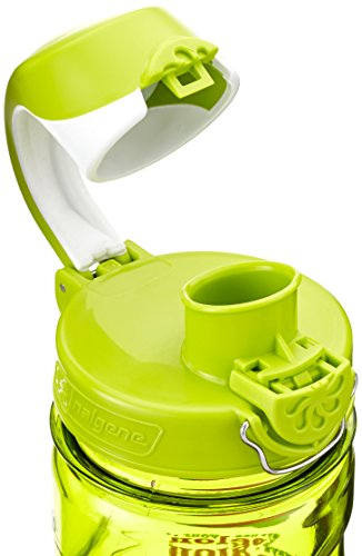 Nalgene Kids Melon OTF Bottle, 12 oz, Green For $9.89