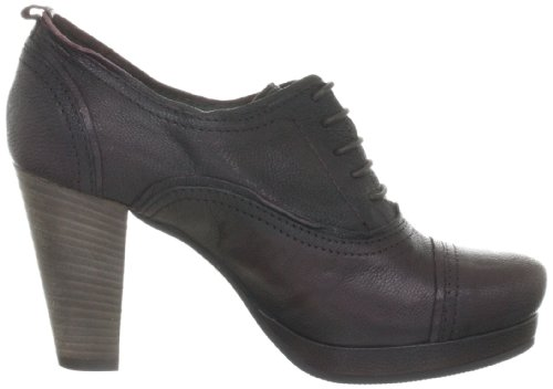 CAFèNOIR HE202 HE202 - Zapatos de vestir de cuero para mujer Rojo