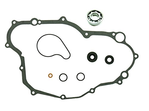 Outlaw Racing OR2831 Complete Water Pump Rebuild Repair Kit w/Bearing Shaft Gasket Seal- YAMAHA WR250F YZ250F 2001-2013 by Outlaw Racing Products (Image #1)