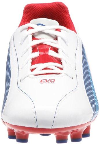 Unisexe Fg Rouge Football Jr De Chaussures Enfants Bleu 5 Pour Blanc Sport Puma 102595 Evospeed pFOYdqapw