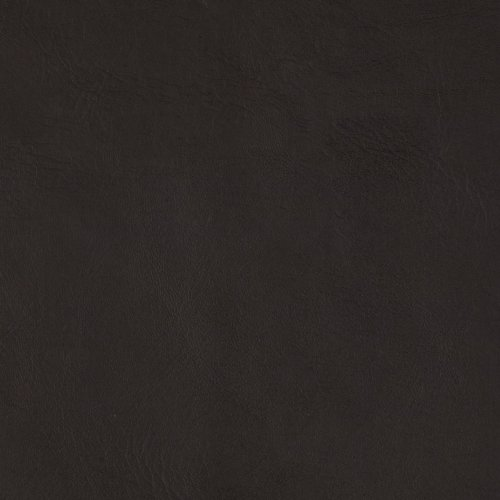 Flannel-Backed Faux Leather Majik Dark Brown Fabric By The Yard - Fabric Brown Leather