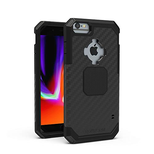 Rokform Rugged [iPhone 8/7/6/6s] Military Grade Magnetic Protective Case with Twist Lock - Black
