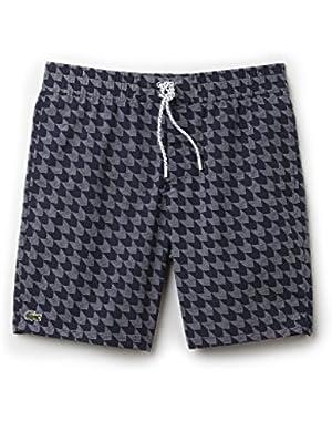 Men's Dark Blue Swim Shorts