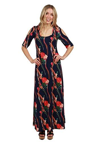 Alicia Dress (24/7 Comfort Apparel Alicia Maxi Dress)