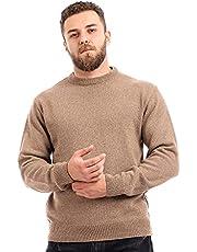 Andora-Knitted Slip On Crewneck Pullover- Light