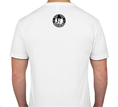 0344342af Original Rat City Rollergirls Mens T-Shirt in White at Amazon Men s  Clothing store