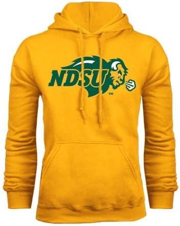 North Dakota State Fleece Full Zip Black Jacket NDSU Bison
