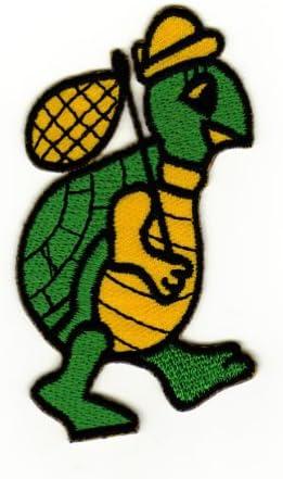 Applikation zum Aufbügeln Bügelbild 1-501 Schildkröte