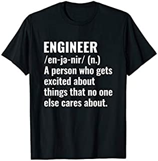 Cool Gift Engineer  Gift; funny Engineer Definition Women Long Sleeve Funny Shirt / Navy / S - 5XL