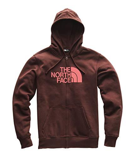 (The North Face Men's Half Dome Full Zip Hoodie Sequoia Red/Faded Medium)