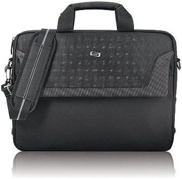 Black CLA116-4 Solo Flatiron 16 Inch Laptop Slim Brief