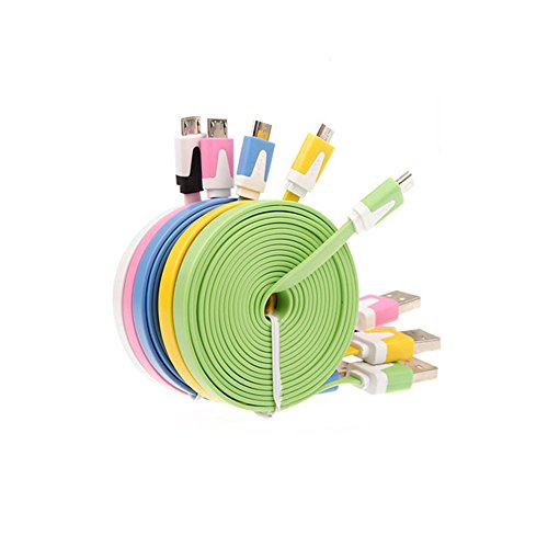 UMFunMicro USB Cable Data Sync Charger Cord Fabric For Android Phone -
