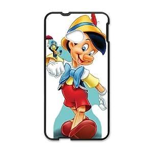 HTC One M7 Phone Case Black Disney Pinocchio Character Jiminy Cricket WQ5RT7421573