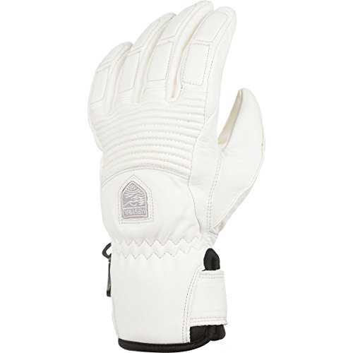 Hestra Gloves 30210 Women's Leather Fall Line, Offwhite/Offwhite - 6 by Hestra